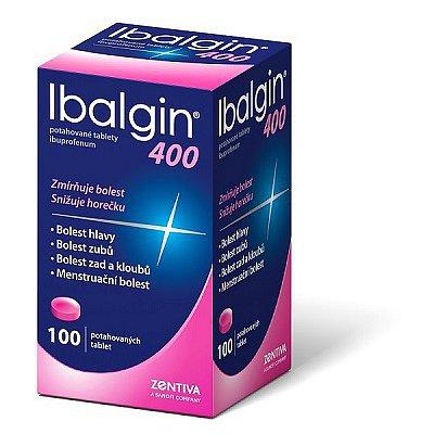 Ibalgin 400 tablety potažené 100 x 400 mg