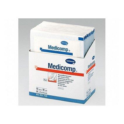 Kompres Medicomp nesterilní 5x5cm 100ks 4218215