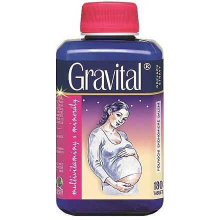VitaHarmony Gravital tablety 180 pro těhot.a koj.ženy