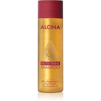 Alcina Nutri Shine vyživující šampon s arganovým olejem  250 ml