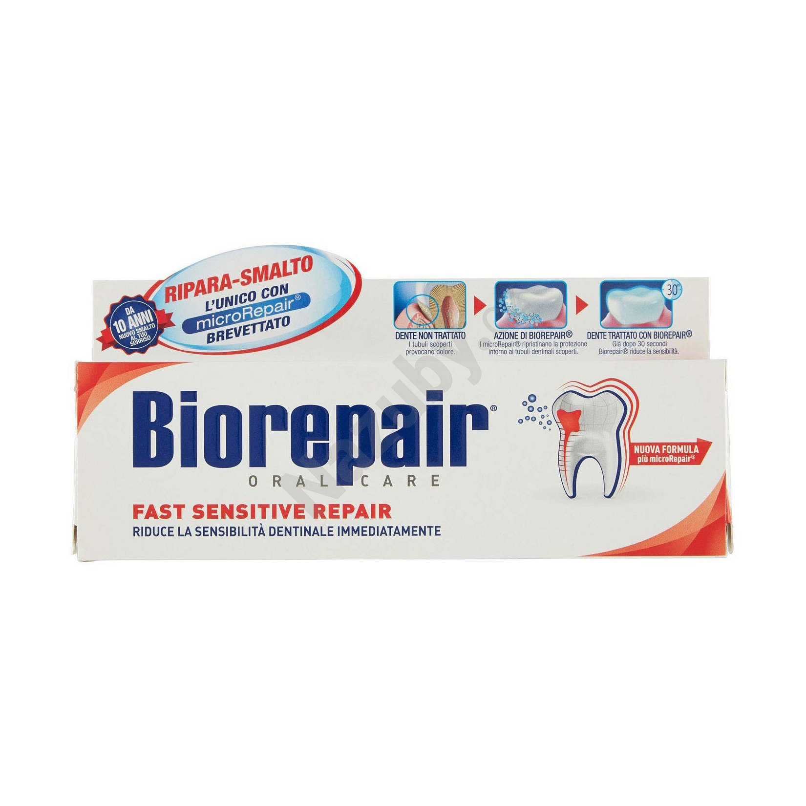 Biorepair Fast Sensitive Repair zubní pasta 75 ml