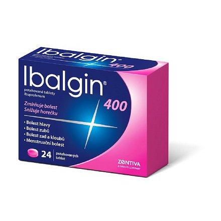 Ibalgin 400 perorální tablety film  24 x 400 mg