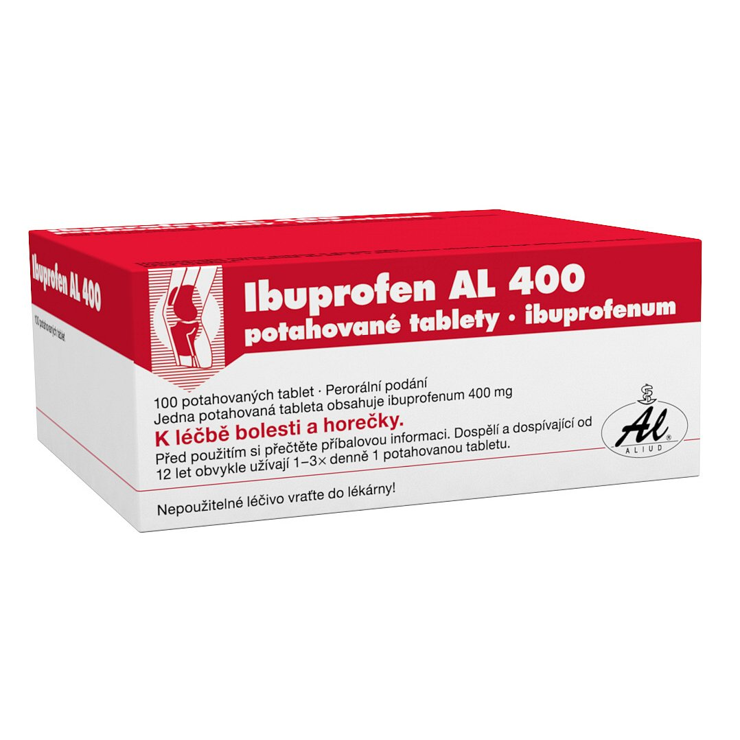 Ibuprofen AL 400 400mg 100 tablet