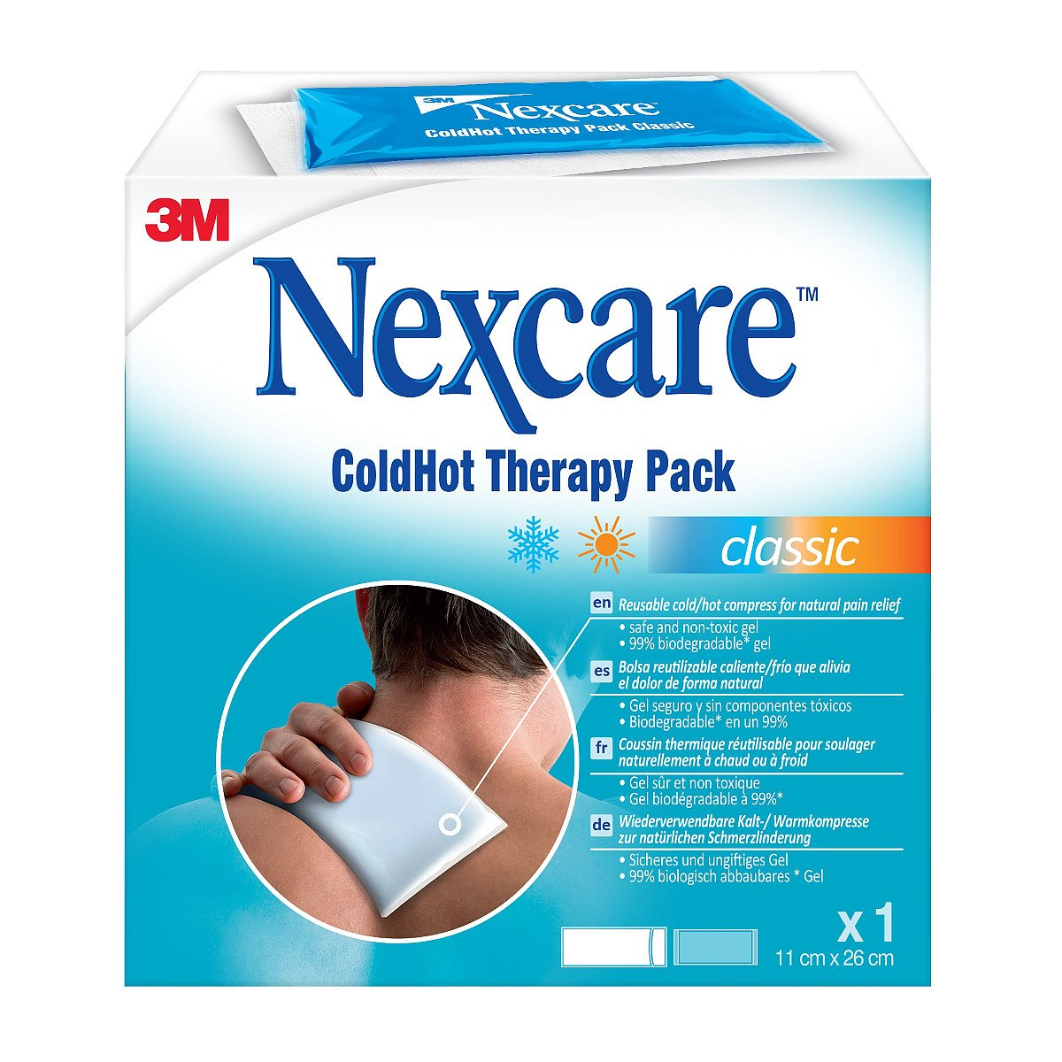 3M Nexcare ColdHot Therapy Pack Classic 11x26 cm gelový obklad 1 ks