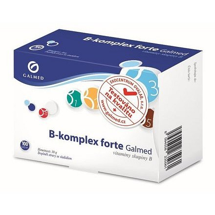 Galmed B-komplex forte 100 tablet