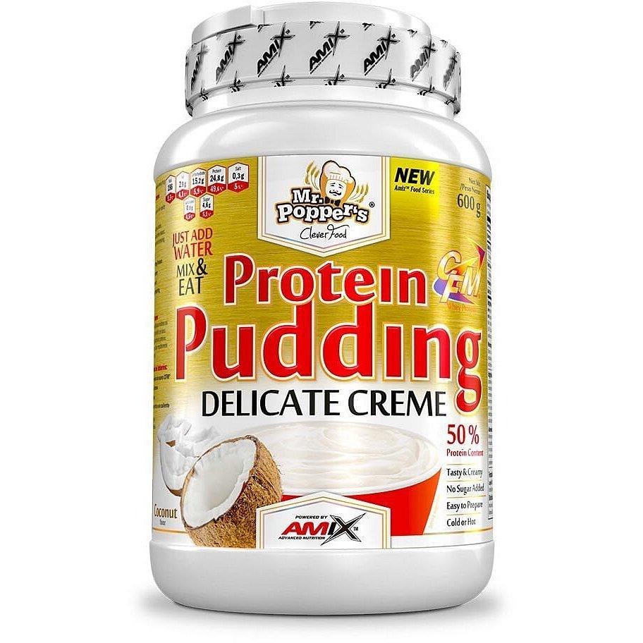 AMIX Mr. Popper's Protein Pudding Creme Kokosový ořech 600g