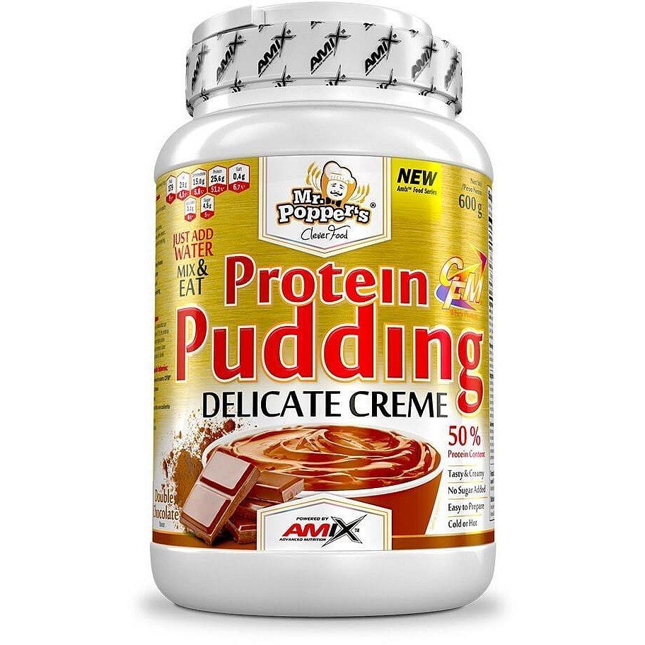 AMIX Mr. Popper's Protein Pudding Creme Dvojitá čokoláda 600g