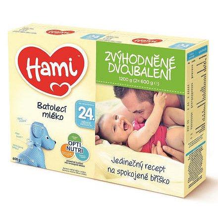 Hami 24+ Zvýhodněné dvojbalení 2x600g