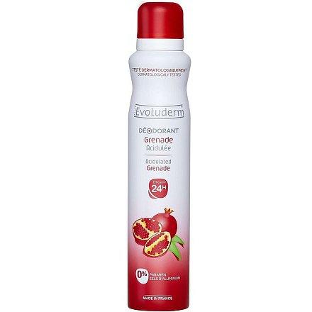 Evoluderm Deodorant Granátové jablko 200 ml