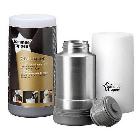 Termoska a cestovní ohřívačka lahví C2N