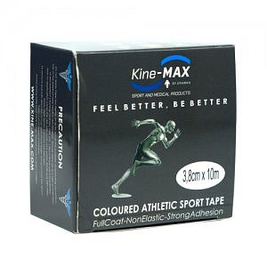 Kine-MAX neelastická tejpovací páska Team Tape 3,8cm x 10m -červená-