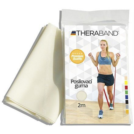Thera-Band Posilovací guma béžová