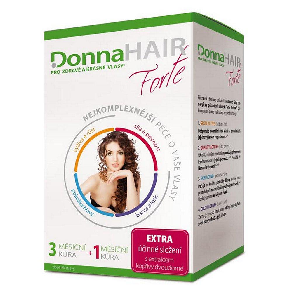 DONNA HAIR Forte 90+30 tobolek 4 MĚSÍČNÍ kúra
