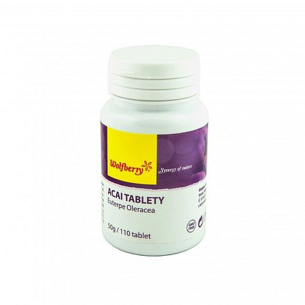 Acai tablety 110 tablet Wolfberry