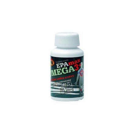 JML EPAmax OMEGA 3 + orální tobolky 34 (Epa 300 mg DHA 200 mg E 5 mg)