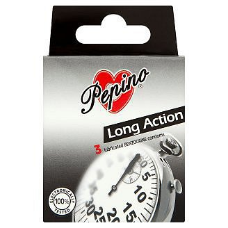 Prezervativ Pepino Long Action 3ks