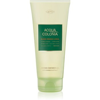 4711 Acqua Colonia Blood Orange & Basil sprchový gel unisex 200 ml