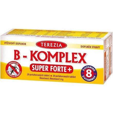 TEREZIA B-komplex Super Forte+ 20 tablet