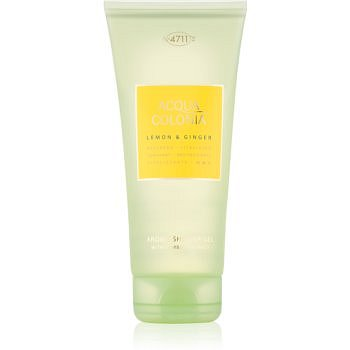 4711 Acqua Colonia Lemon & Ginger sprchový gel unisex 200 ml