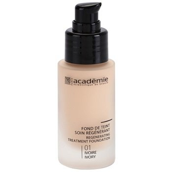 Academie Make-up Regenerating  tekutý make-up s hydratačním účinkem odstín 01 Ivory 30 ml