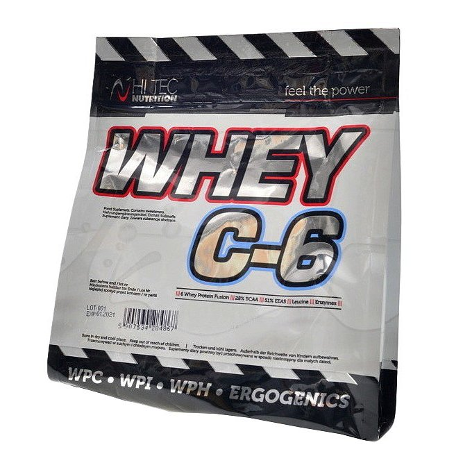 HiTec Nutrition Whey C-6 čokoládová sušenka 1000g