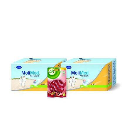 Inkontinenční vložky MoliMed Premium Mini 2x14ks + vůně