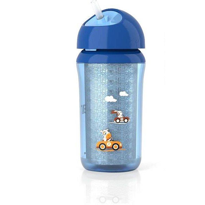 PHILIPS AVENT Hrneček IZO s brčkem od 12 měsíců kluk 260 ml