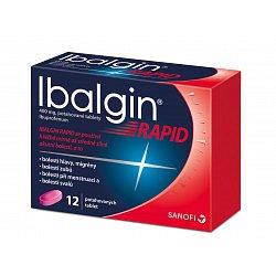 Ibalgin Rapid 400 tablety 12ks