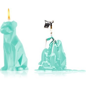 54 Celsius PyroPet VOFFI (Dog) dekorativní svíčka mint 18 cm
