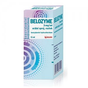 BELOZYME 3mg/ml orální sprej 15ml