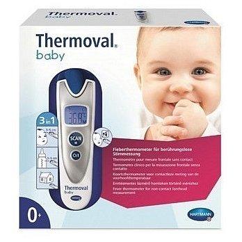 II. jakost Teploměr THERMOVAL Baby bezdotykový infračervený 1 ks