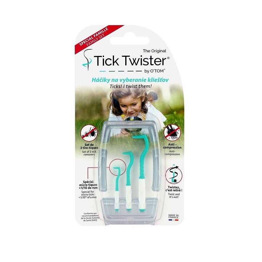 O TOM Tick Twister háčky na odstranění klíšťat 3 ks