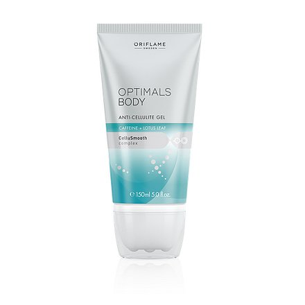 Oriflame Gel proti celulitidě Optimals s kofeinem a lotosem 150ml