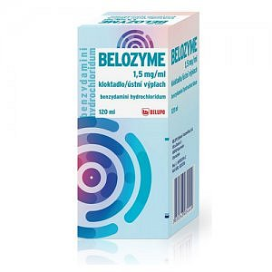 BELOZYME 1,5mg/ml kloktadlo 120ml