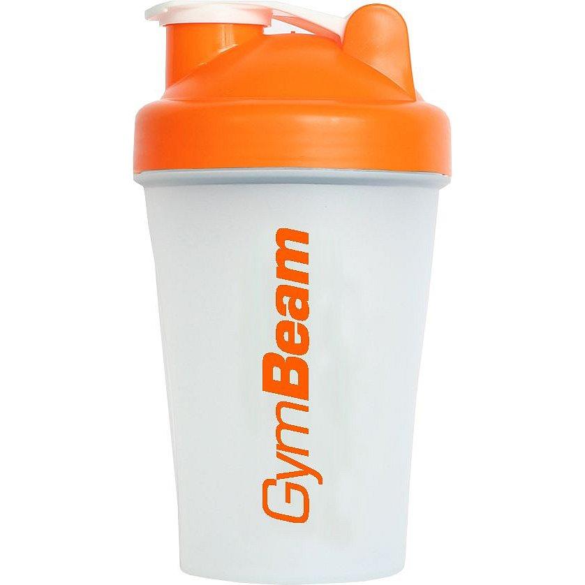 Gymbeam Šejkr Blend Bottle průsvitně-oranžový 400ml
