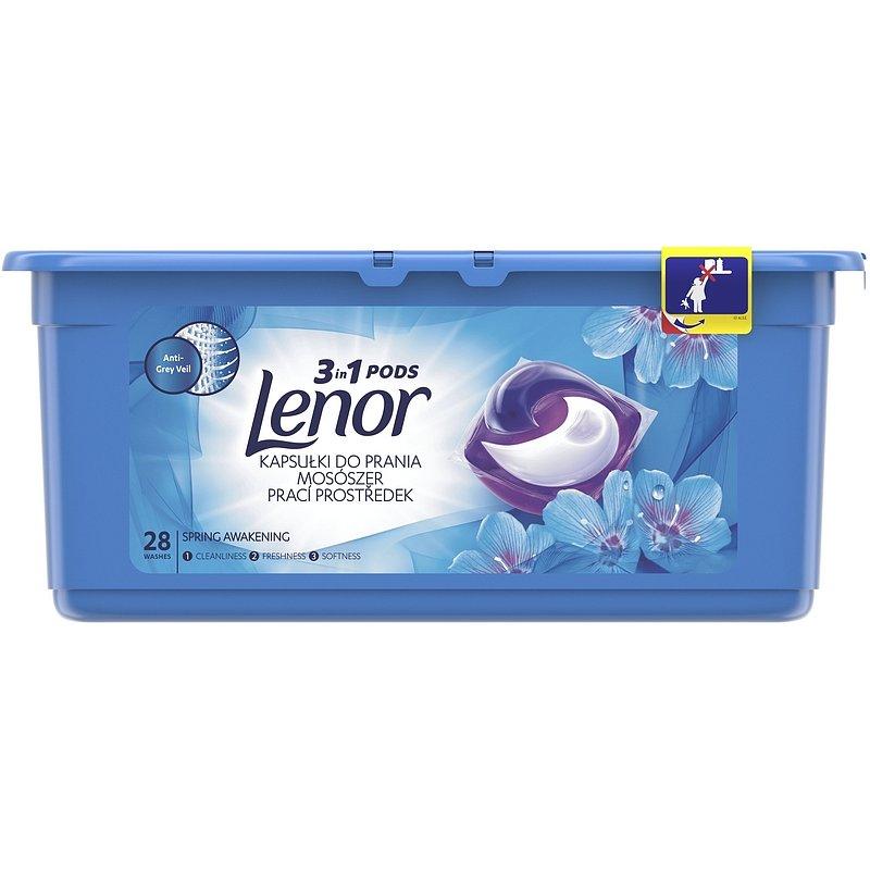 LENOR Spring Awakening 3v1 28 ks – kapsle na praní