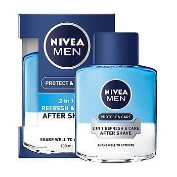 NIVEA FOR MEN voda po hol. 2v1 P&C 100ml