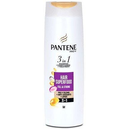 Pantene šampón 3v1 Superfood 360ml