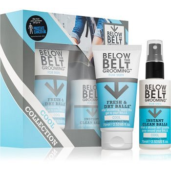 Below the Belt Grooming Cool kosmetická sada I. (pro muže)