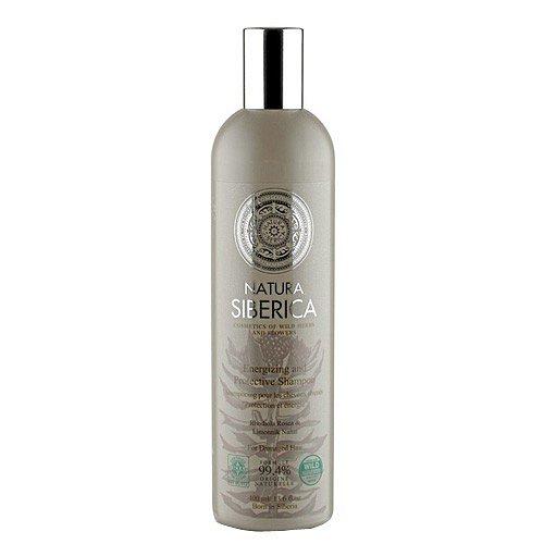 Natura Siberica šampon pro unavené a oslabené vlasy - Ochrana a energie  400 ml