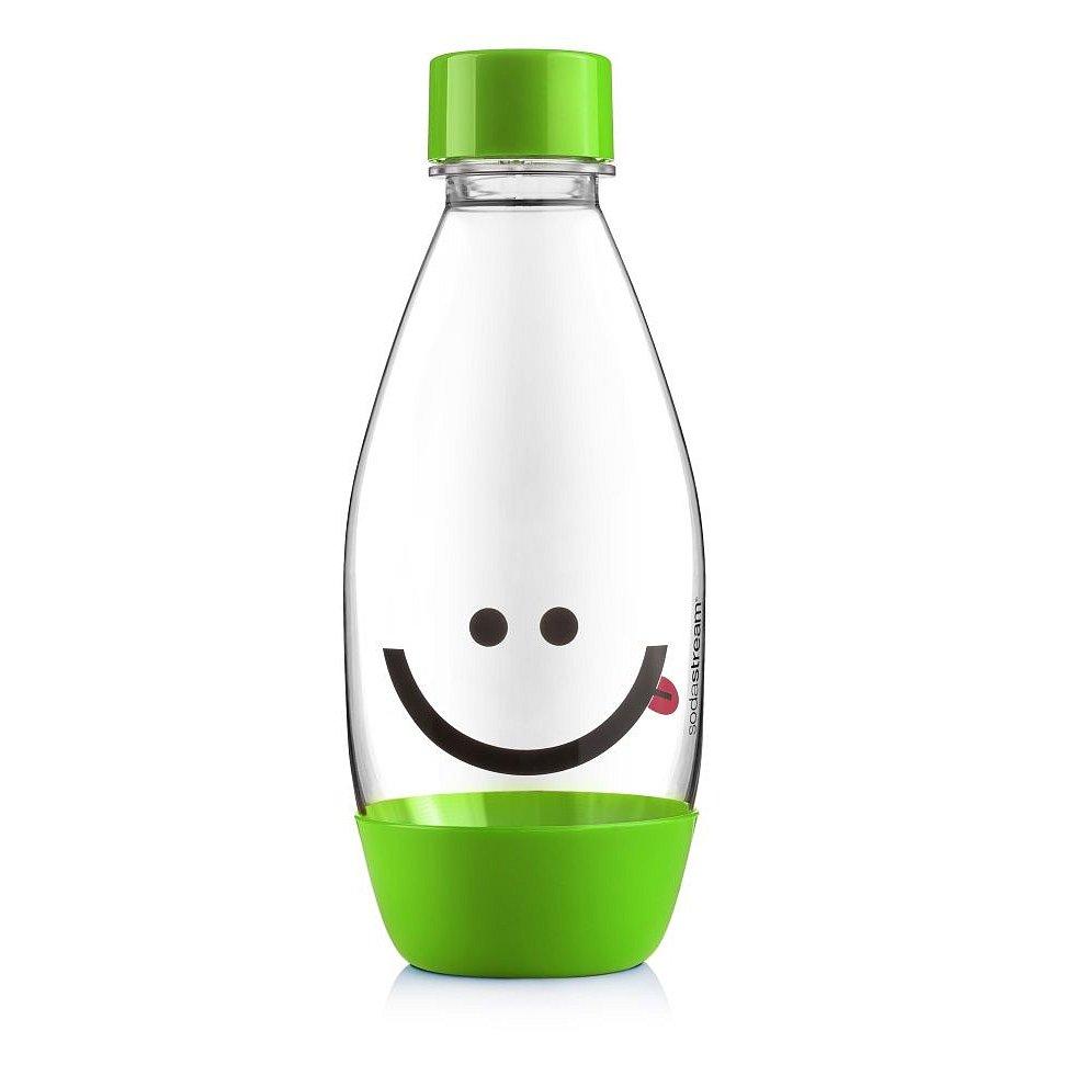 SODASTREAM Lahev dětská 0,5 l 1 ks smajlík zelená