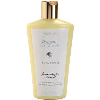 Victoria's Secret Lemon Escape tělové mléko pro ženy 250 ml