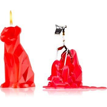 54 Celsius PyroPet VOFFI (Dog) dekorativní svíčka berry 18 cm
