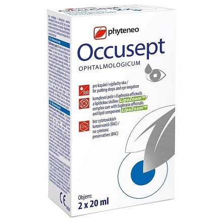Phyteneo Occusept aqua ophthalmica 2x20ml