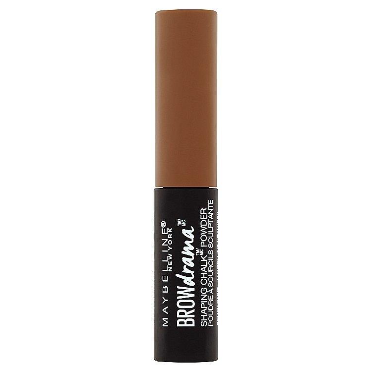 Maybeline Brow Drama Shaping Chalk Powder pudr na obočí Deep Brown