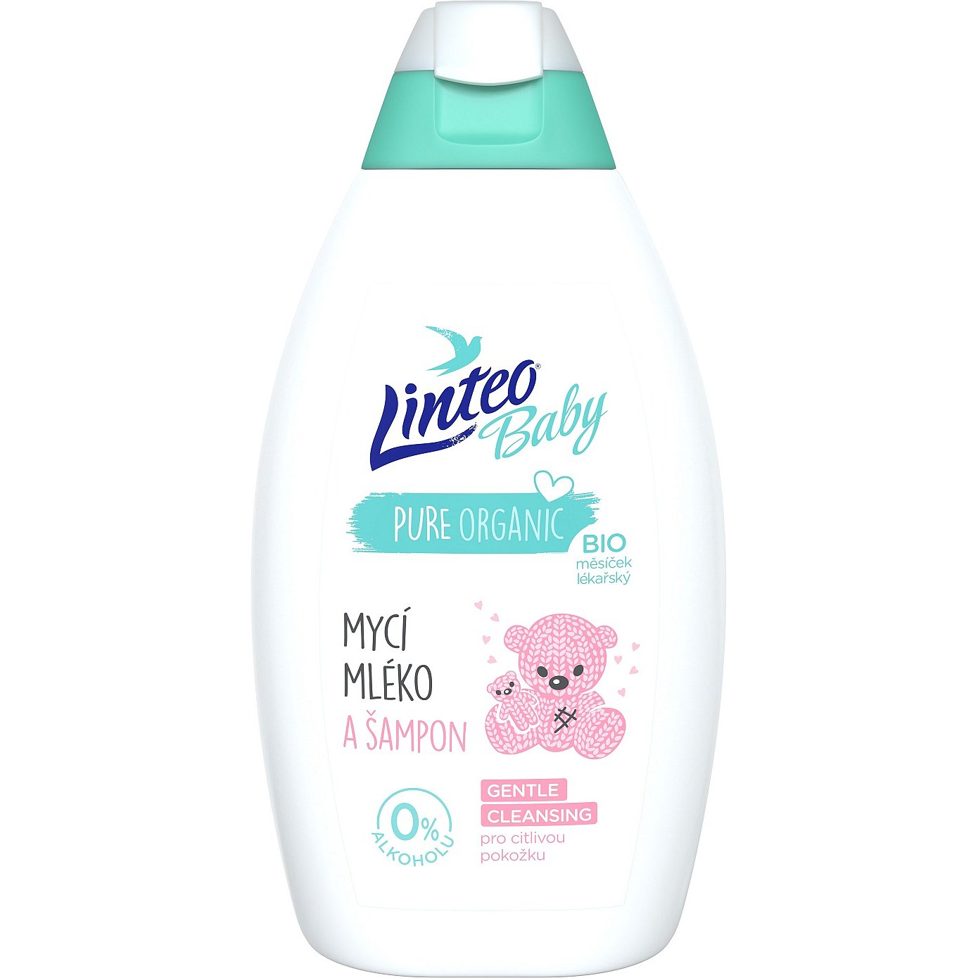 Linteo Mycí mléko a šampon Baby 425ml