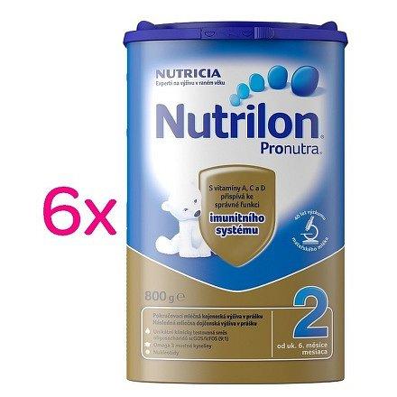 Nutrilon 2 Pronutra 6x800g SIXPACK