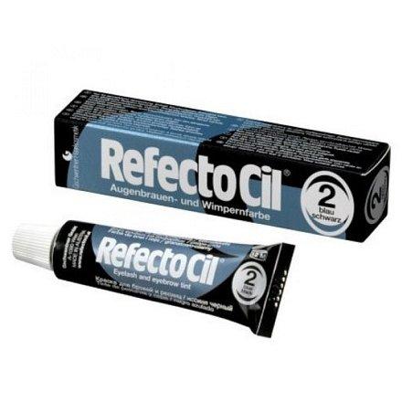 Barva na řasy a obočí Refectocil 15 ml - Odstín: 2.0 modročerná