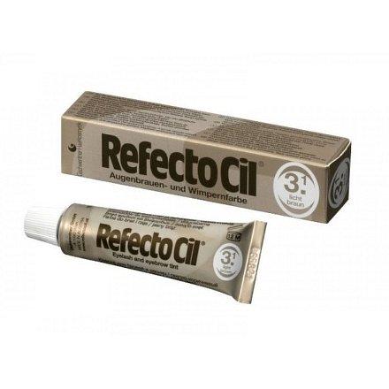 Barva na řasy a obočí Refectocil 15 ml - Odstín: 3.1 světlehnědá