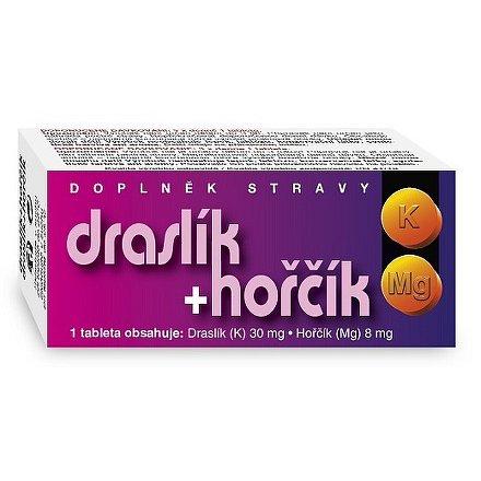 Draslík+hořčík tablety 60